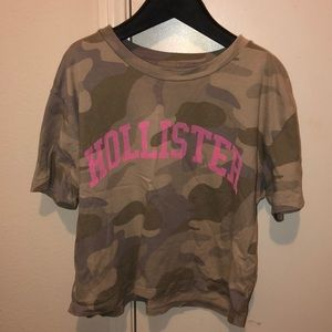 Hollister camouflage top⚡️✨